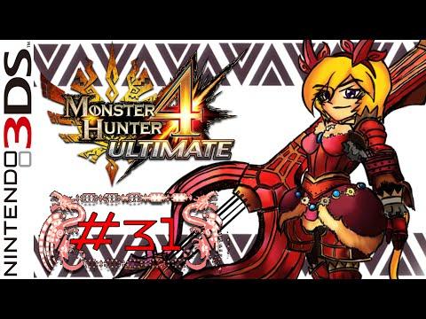 LZ Ft.Guin : Monster Hunter 4 Ultimate #31 [HR5:The Red Menace] | Online