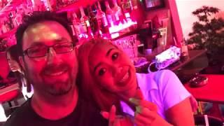 Thailand April 2018 VLOG 12 - Soi 6 at night and walk back to Areca Lodge