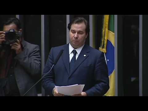 Veja o discurso do candidato Rodrigo Maia (DEM-RJ)