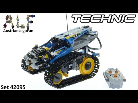Lego Technic 42095 Remote-Controlled Stunt Racer - Lego 42095 Speed Build