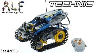 Лего Серії Technic 42095 Дистанційним Управлінням Трюк Гонщик - Швидкість Збірки Лего 42095