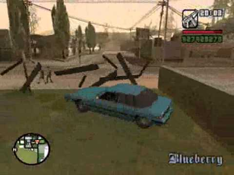 Retarded moments in GTA SA