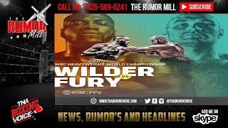 🔥Deontay Wilder 💣vs Tyson Fury🇮🇪Rumored Details Press Tour, PPV Price💰💵