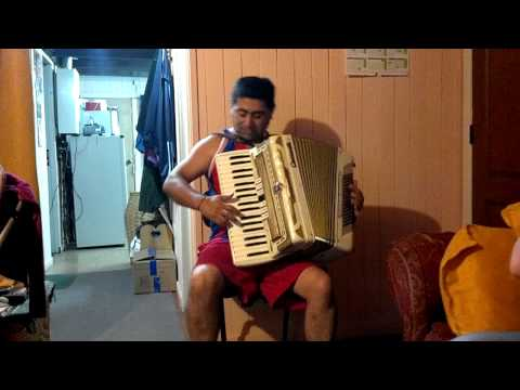 Sergio Álvarez y su accordeon