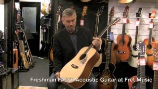 Freshman FA250 Acoustic Guitar at Fret Music