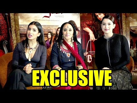 Gauhar Khan, Ila Arun And Pallavi Sharda Are HILARIOUS In This Begum Jaan FUNNY Interview