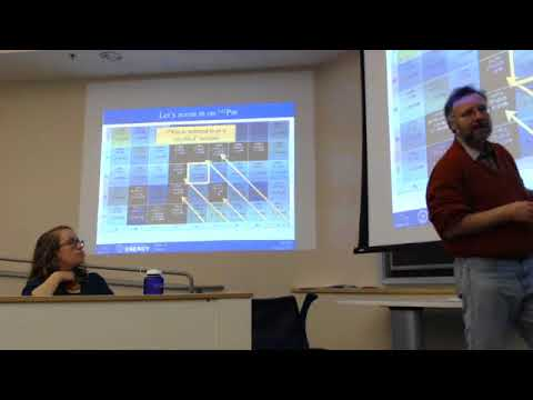 Nuclear Security Course 3/14/18: Stewardship Science/Forensics