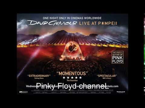 David Gilmour, 'Live at Pompeii'...