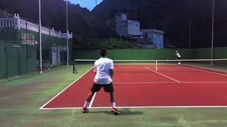 Isaac Campos - Tennis Recruiting Video Spring 2019