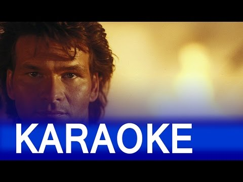 Patrick Swayze - She's like the wind with Lyrics [Karaoke version]