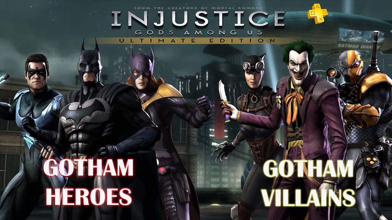 Gotham Heroes and Villains