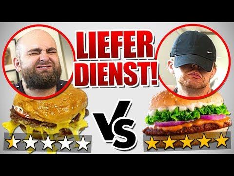 1 Stern VS 5 Stern Restaurant BLIND erraten ! ( Pizza, Burger, Pommes )