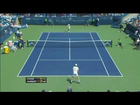 Mardy Fish Upsets Nadal In Cincinnati Quarter-final Highlights