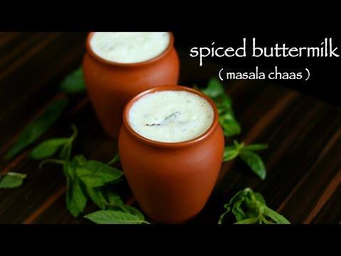 buttermilk recipe   spiced buttermilk recipe   chaas masala recipe