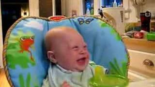 Owen Laughs at Sign Language
