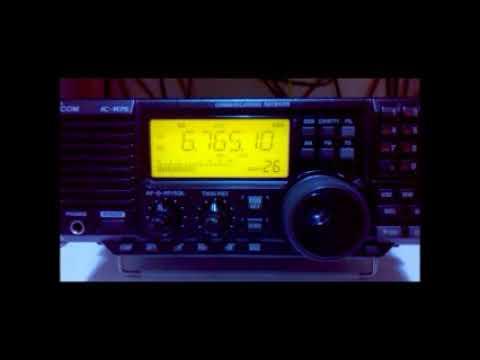 6765,1 kHz Bangkok Meteorological Radio, Bangkok - Thailand