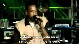 Jay-Z & Linkin Park - Points of Authority / 99 Problems / One Step Closer Subtitulada español