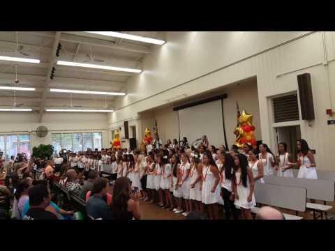 Kahakai Elementary School- 5th grade Graduation