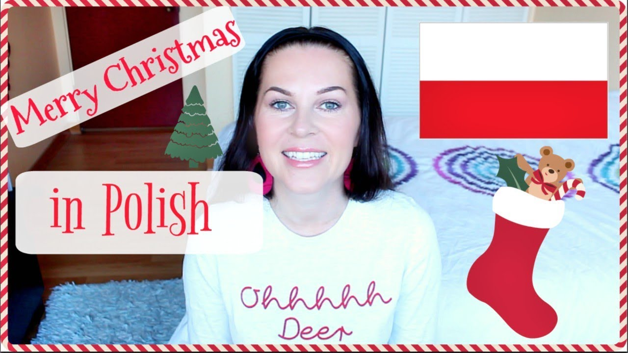 how to say merry christmas and happy new year in polish itsewelina