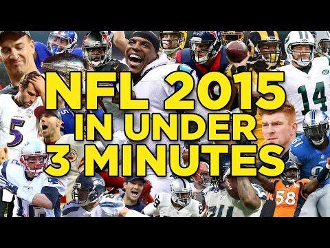 2015 NFL Season Recap