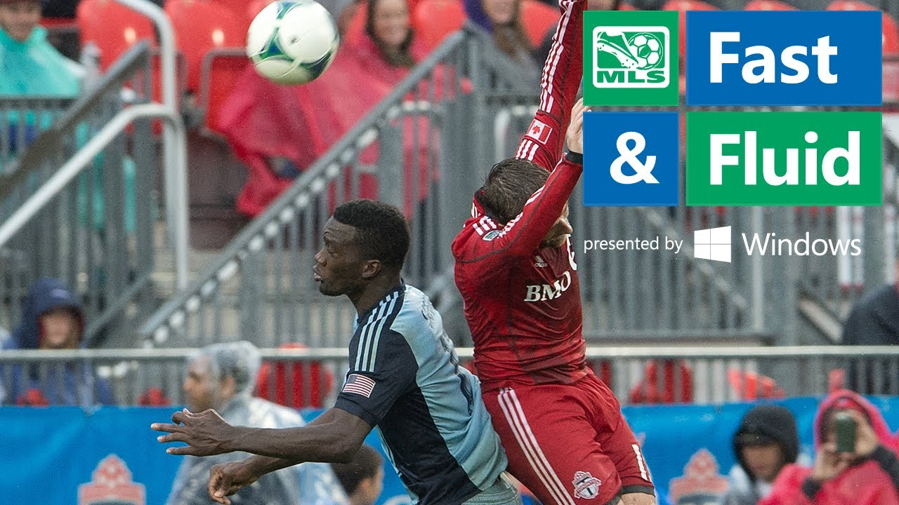Fast & Fluid Play of the Week: Sapong rises high to head past Bendik