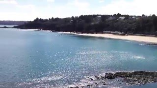 Vue mer le 1er avril à Etables-sur-Mer