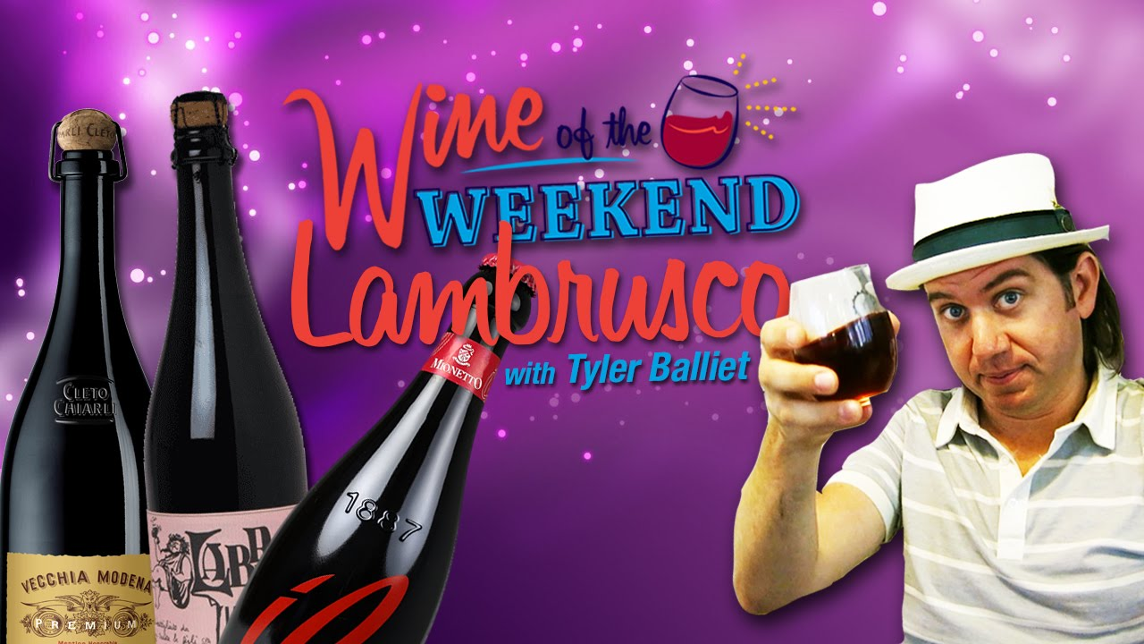 Explore Lambrusco, the amazing Italian sparkling red wine you may .