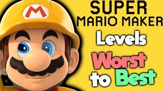Ranking Every Level in Super Mario Maker