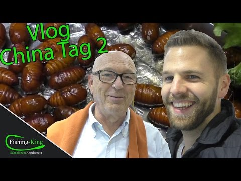 China-VLog #2: Rutenkauf & leckeres Essen??   Fishing-King goes to China