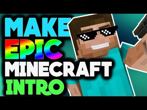 How To Make A Minecraft Intro On Android Youtube
