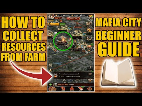 Mafia City - How To Collect Resources From Farm - Complete Guide