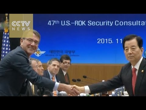 US, South Korea defense chiefs meet in Seoul for annual secu