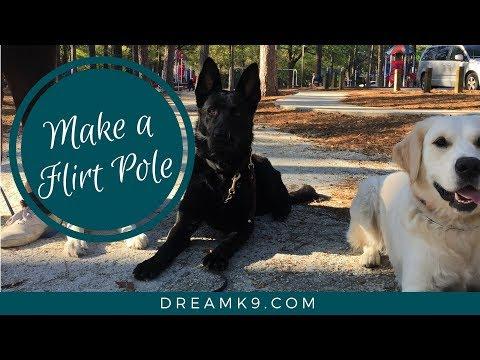 How to make a Flirt Pole - DreamK9.com