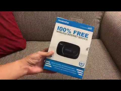 FreedomPop Mifi 500 4G LTE portable hotspot