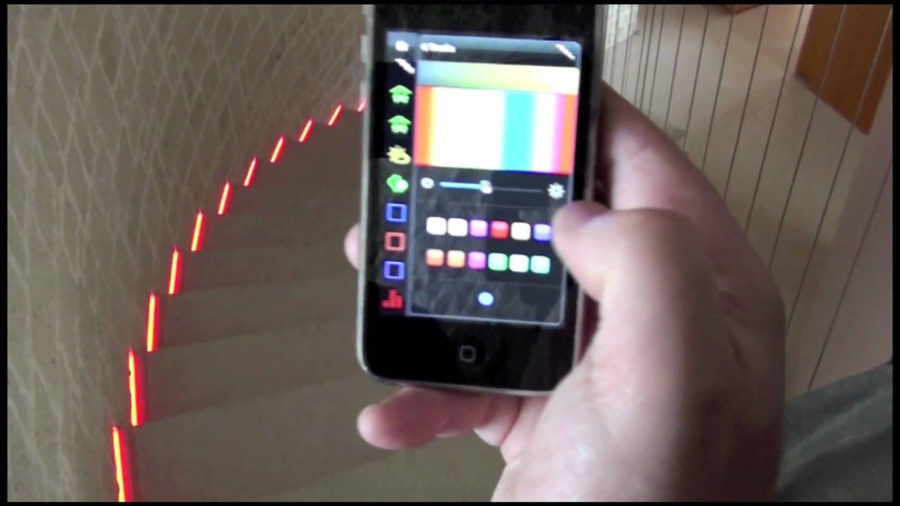 ILEVIA EVE RGB led gradini scale - YouTube