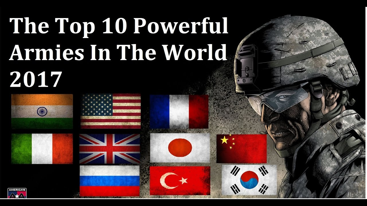 Top Most Powerful Countries In The World YouTube - Most powerful country in the world