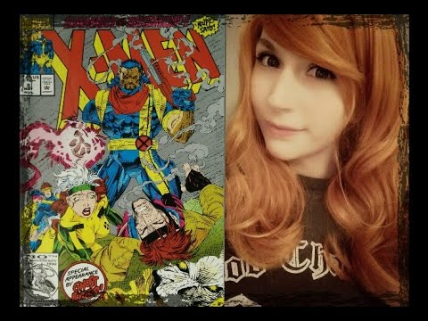 ASMR X-Men . Close Up Whispers . Partly Unintelligible . Tracing