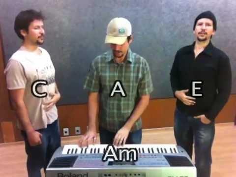 Aula de Canto - 3 Vozes - Harmonia Vocal #2 com Staccato com os