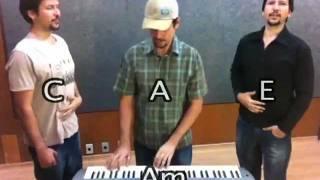 aula de canto 3 vozes harmonia vocal 2 com staccato com os gmeos