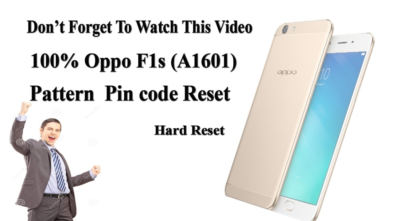 FRP-100% Working Method | Oppo F1s Hard Reset unlock Pattern (A1601) remove  password By How to Flash