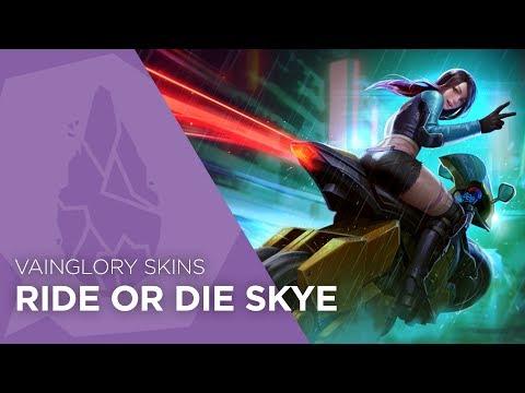 Vainglory Skins - Ride Or Die Skye (Update 2.6)