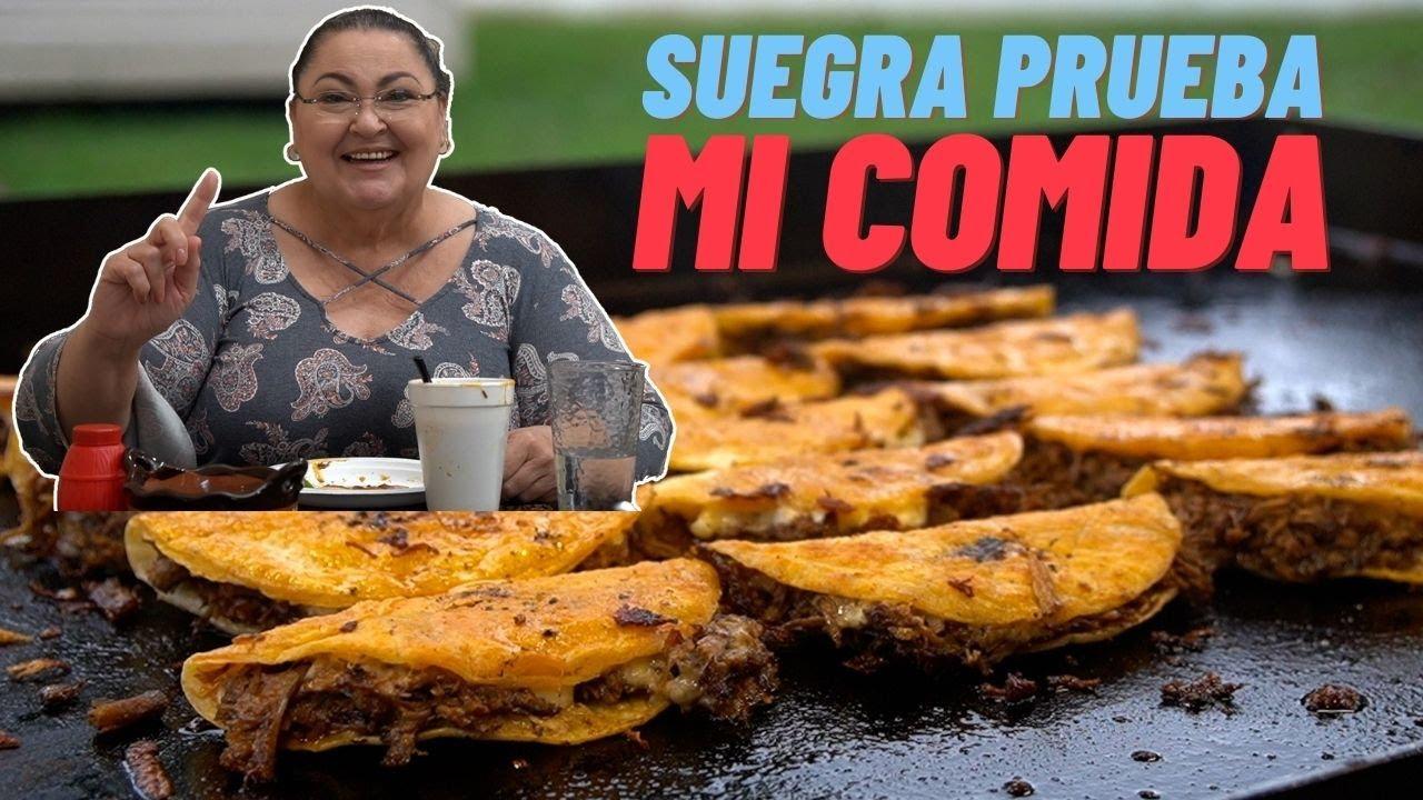Download Mi suegra prueba mis tacos de Birria | La Capital