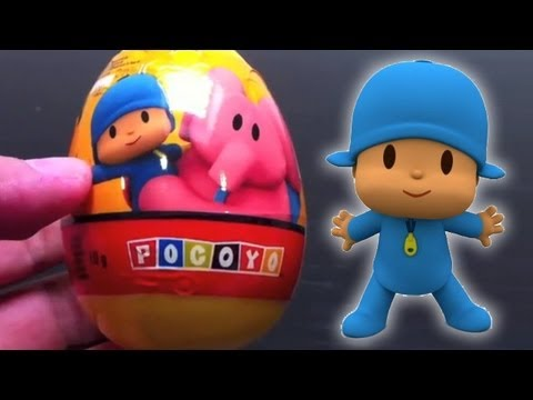 Surprise eggs Pocoyo Kinder Surprise Egg unboxing toy surprise Travel Video