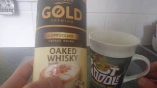 Oaked Whisky Cappuccino Review