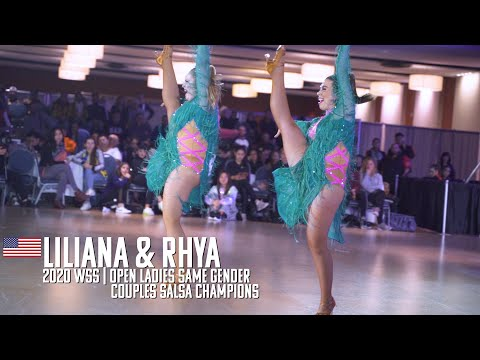 Liliana & Rhya | 2020 WSS Open Ladies Same Gender Couples Salsa Champions