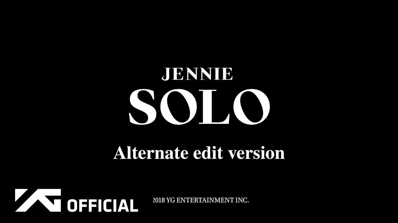 JENNIE — 'SOLO' CHOREOGRAPHY ALTERNATE EDITED VERSION