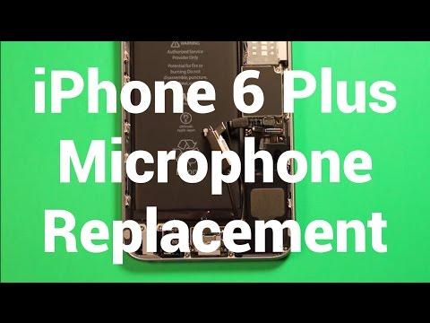 more photos b1111 af141 iPhone 6 Plus Microphone Replacement How To Change - YouTube