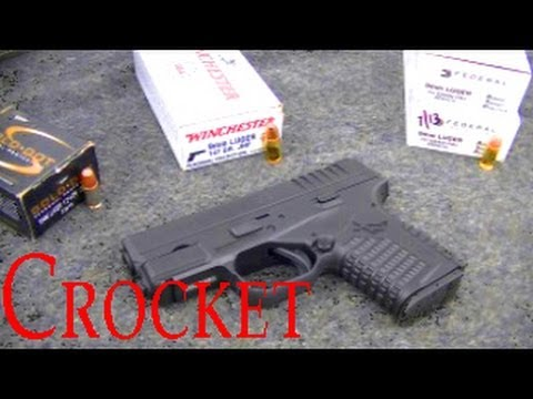 XD-S Ammo Feed Test -- Speer Gold Dot 124 HP, Federal 115 FMJ, Winchester 147 JHP