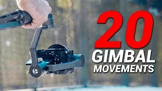 20 WAYS to use your GIMBAL