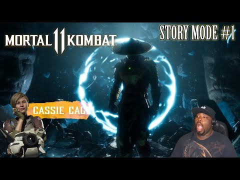 The Hype Is Real Y'all Story Mode MK11/ #1